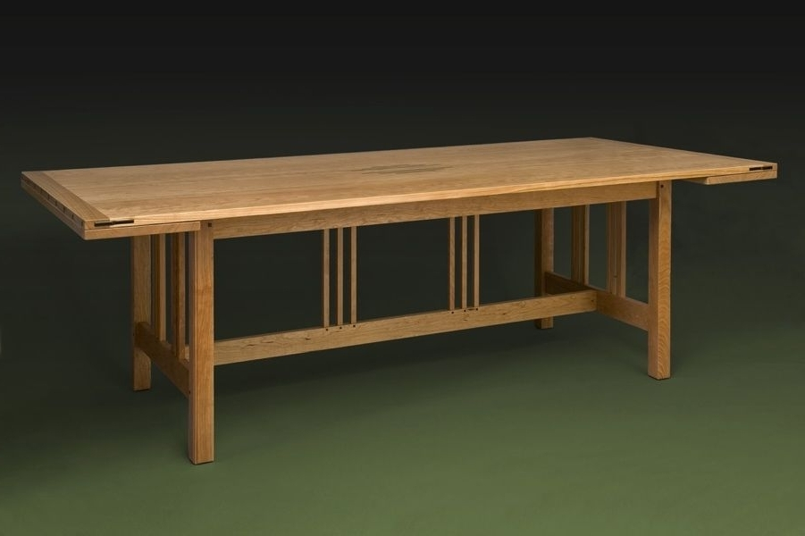 Craftsman, Arts And Crafts, Stickley Style Pertaining To Craftsman Rectangle Extension Dining Tables (View 5 of 20)