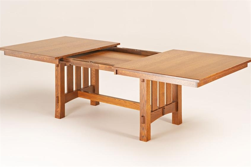 Craftsman Rectangle Extension Dining Tables Pertaining To Well Known Bontrager Dining Collection (View 1 of 20)