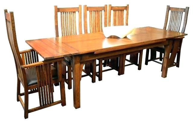 Craftsman Round Dining Tables For Fashionable Sears Dining Table Set Craftsman Dining Table Related Post Sears (View 5 of 20)