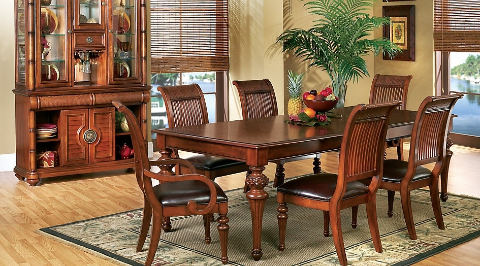 Crawford 7 Piece Rectangle Dining Sets Regarding Latest (View 4 of 20)