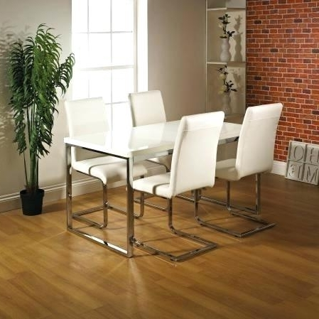 Cream Dining Table 7 Off Penley Oak Extendable Dining Table And 6 Throughout Best And Newest High Gloss Cream Dining Tables (View 6 of 20)