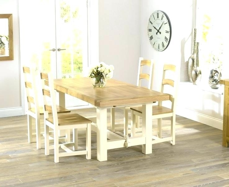 Cream Dining Tables And Chairs With Regard To Most Popular Cool Cream Round Dining Table Decor Cream Dining Table Set Cream (View 10 of 20)