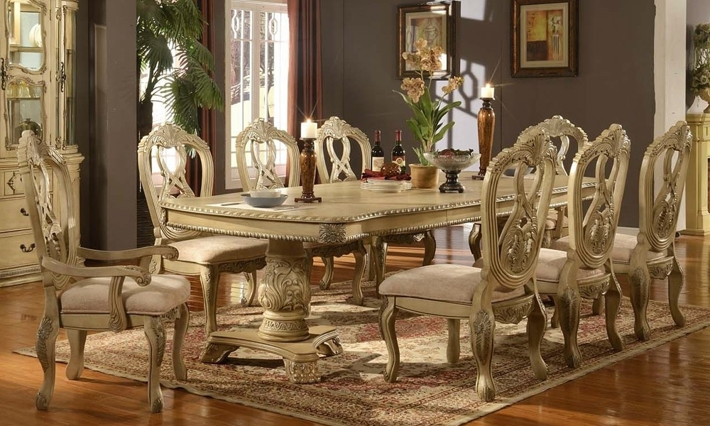 Cream Dining Tables And Chairs Within Recent Cream Dining Room Table – Dining Table Furniture Design (View 11 of 20)