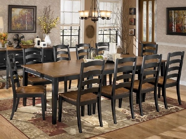 Creative Inspiration Large Dining Table Sets Roma Chunky Oak With Newest Dining Tables Set For  (View 4 of 20)