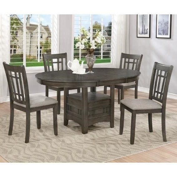Crown Mark Hartwell Five Piece Dining Set (View 2 of 20)