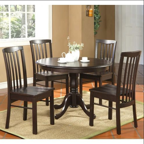 Current 4 Seat Dining Tables With 4 Seater Round Table Dining Set, Wooden Dining Tables – Best Retail (View 10 of 20)
