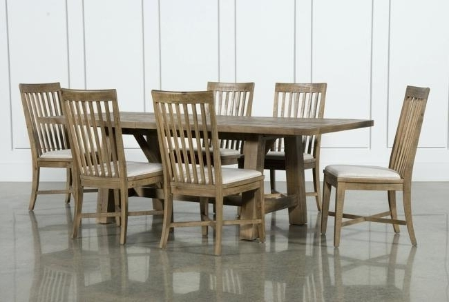 Current 7 Piece Dining Set With Leaf Room Sets For 4 Counter Height Glass With Market 7 Piece Counter Sets (View 3 of 20)