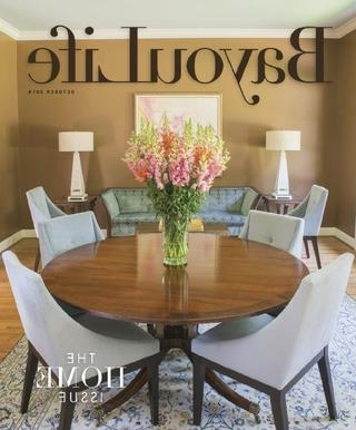 Current Bayoulife October 2014Bayoulife Magazine – Issuu With Bale Rustic Grey 7 Piece Dining Sets With Pearson Grey Side Chairs (View 10 of 20)