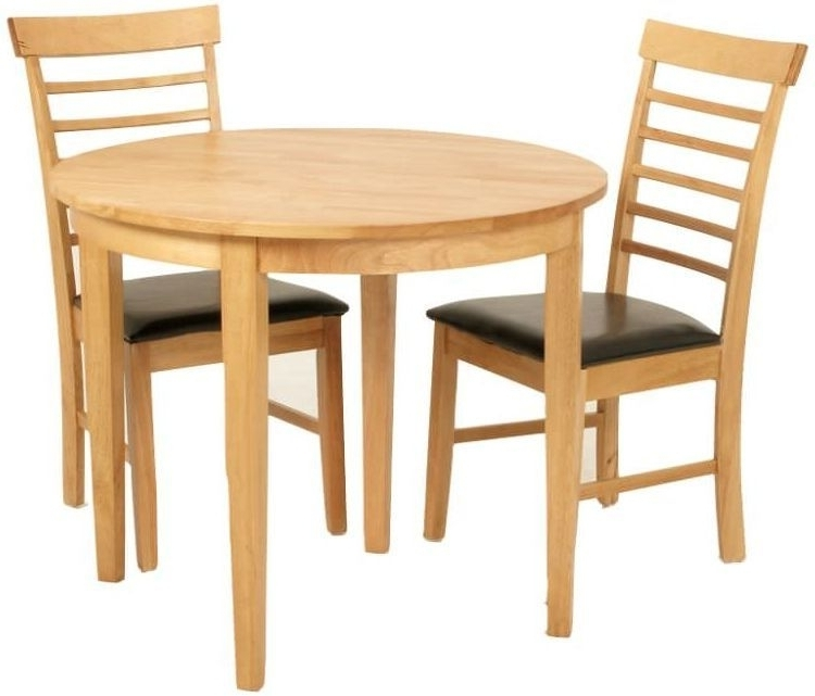 Current Buy Hanover Round Extending Half Moon Dining Set With 2 Chairs Throughout Round Half Moon Dining Tables (View 3 of 20)