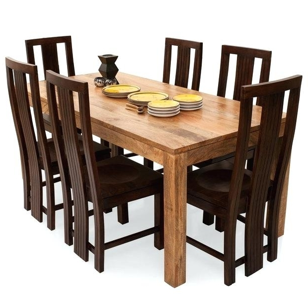 Current Cheap 6 Seater Dining Tables And Chairs With Regard To Decoration: Cheap 6 Seater Dining Table And Chairs (View 7 of 20)