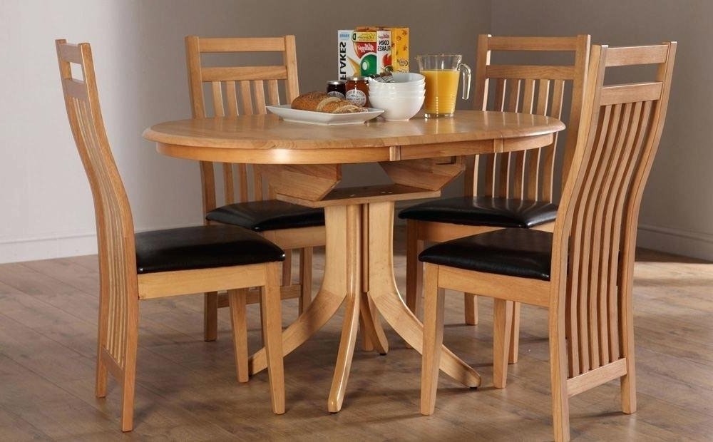 Current Circular Extending Dining Tables And Chairs With Extending Dining Table Sets Brown Wood Wine Rack Counter Height (View 4 of 20)
