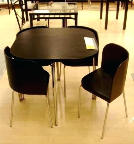 Current Compact Dining Table Set Tables Small Round For 6 Gorgeous And Inside Compact Dining Tables (View 9 of 20)