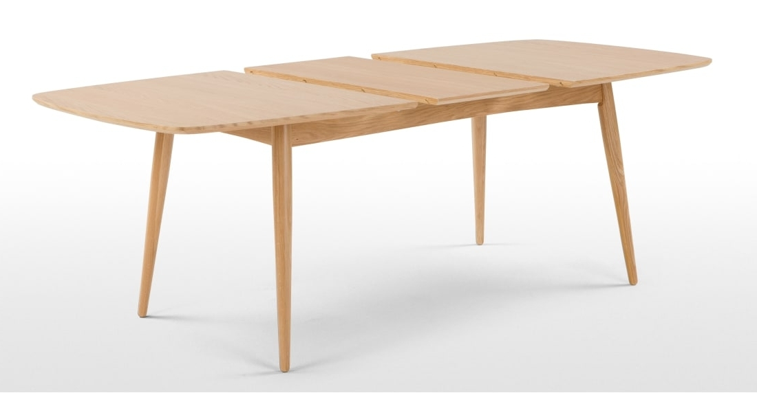 Current Deauville Extending Dining Table, Oak (View 3 of 20)