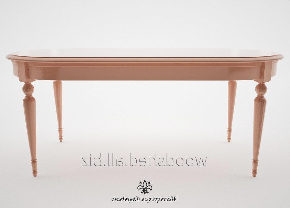 Current Dining Table For The Hall Provence Of 1900 Mm Buy In Kiev Pertaining To Provence Dining Tables (View 5 of 20)
