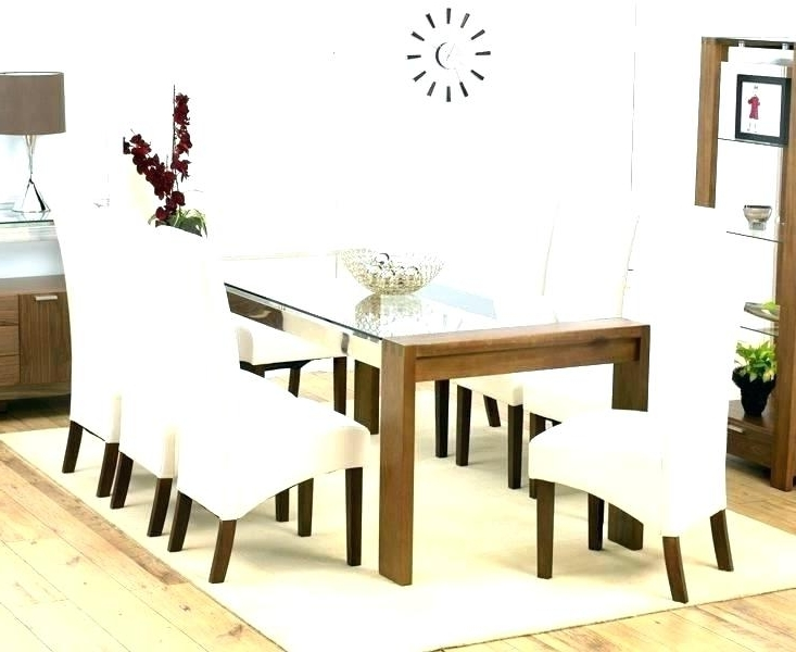 Current Dining Tables And 8 Chairs Sets Inside Dining Table And 8 Chairs Set Oak Style 9 Piece 1 Seater Chair Sets (View 7 of 20)