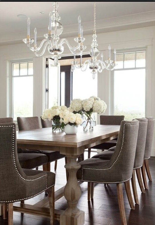 Current Dining Tables And Chairs. Sideboards And Accents (View 8 of 20)