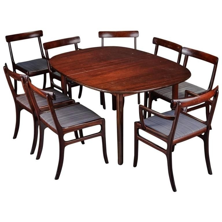 Current Dining Tables For Eight With Rungstedlund Dining Table And Eight Chairsole Wanscher For Poul (View 3 of 20)
