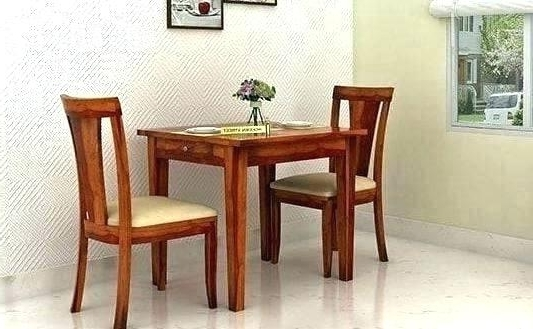 Current Dining Tables For Two Throughout Two Person Dining Table – Hepsy (View 4 of 20)