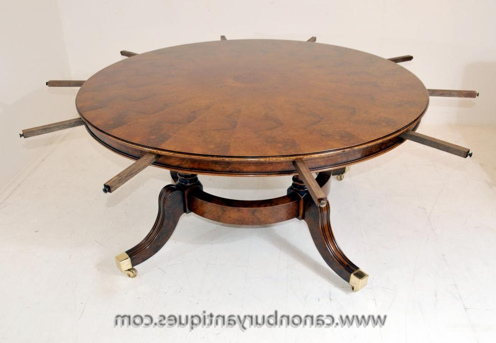 Current Extended Round Dining Tables With Regency Furniture (View 3 of 20)