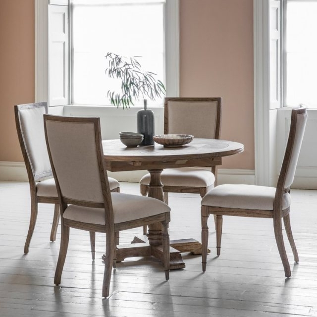 Current Gallery Hudson Mustique Round Extending Dining Table – Brentham Throughout Hudson Round Dining Tables (View 1 of 20)