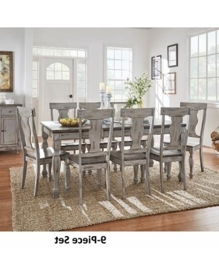 Current Jaxon Grey 6 Piece Rectangle Extension Dining Sets With Bench & Wood Chairs Throughout Splendid Design Ideas Grey Wood Dining Set Jaxon 6 Piece Rectangle (View 5 of 20)