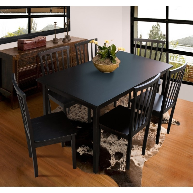 Current Logan 6 Piece Dining Sets With Logan 1+6 Dining Set (View 5 of 20)