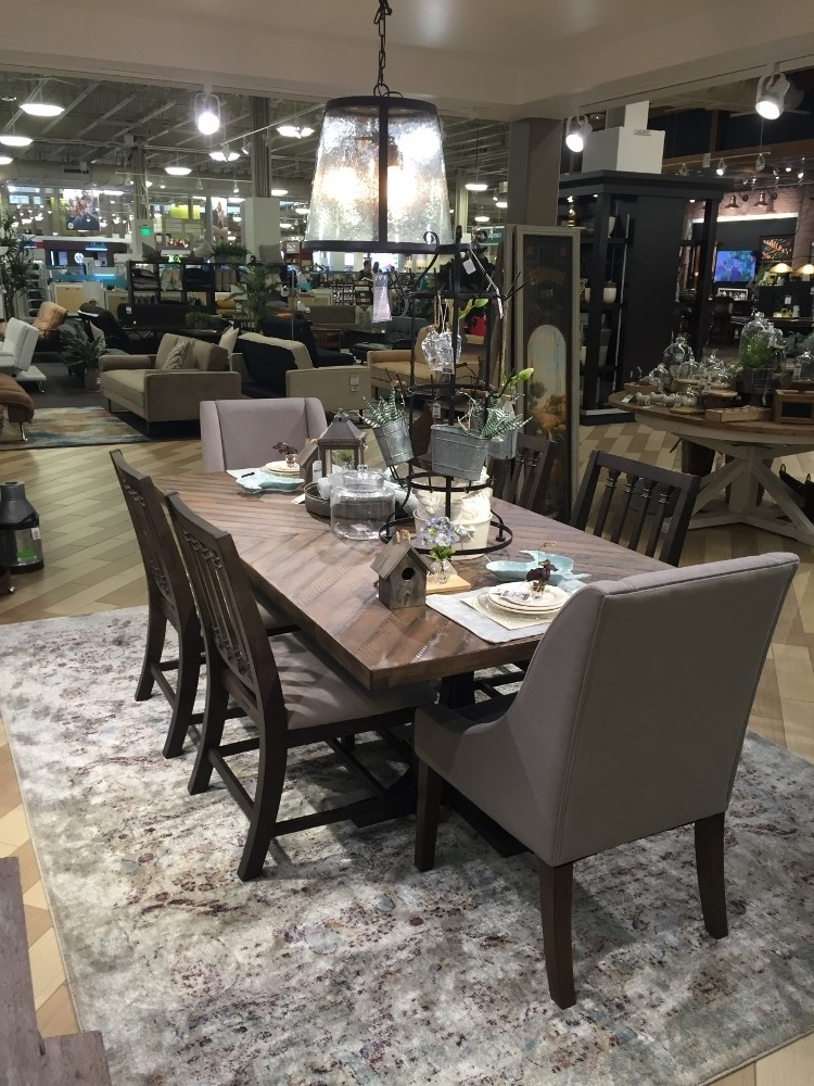 Current Magnolia Home Sawbuck Dining Tables Throughout Magnolia Table Photos — Lbc9 News (View 3 of 20)