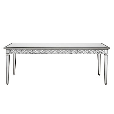 Current Mirrored Dining Tables Pertaining To Mirrored Dining Table (View 5 of 20)