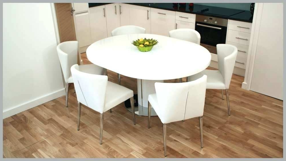 Current Modern Round Extendable Dining Table – Tinvietkieu Pertaining To White Round Extending Dining Tables (View 1 of 20)
