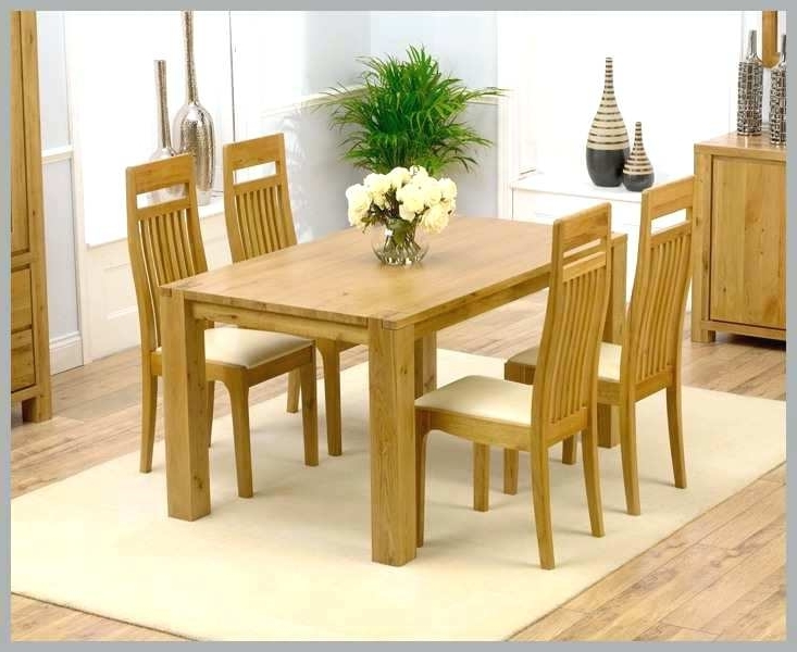 Current Oak Dining Table And Chairs Elegant Dark Wood Dining Room Table And Throughout Light Oak Dining Tables And Chairs (View 3 of 20)