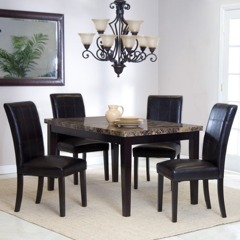 Current Palazzo Rectangle Dining Tables Pertaining To Palazzo 5 Piece Dining Set – Wit (View 4 of 20)