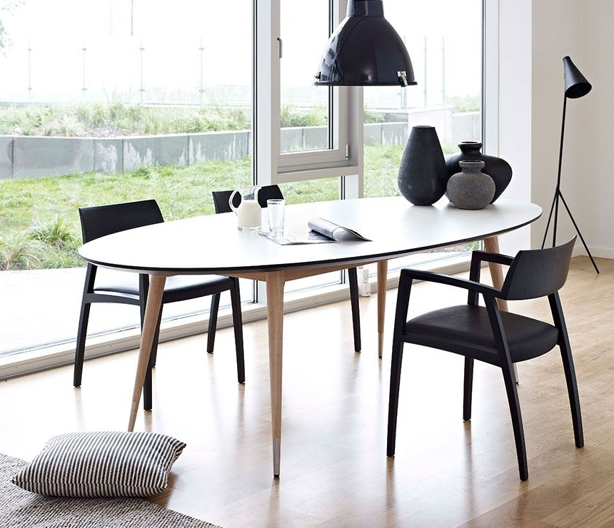 Current Retro Glass Dining Tables And Chairs In Really Like The Two Tone Legswood, With Metal Feel (View 2 of 20)