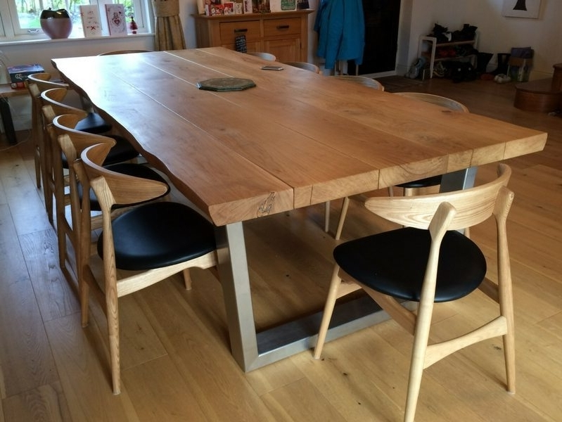 Current Rustic Oak Dining Tables Throughout Rustic Dining Table Selection (View 5 of 20)