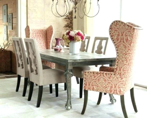 Current Shabby Chic Dining Table Chairs Shabby Chic Round Dining Table And Regarding Shabby Dining Tables And Chairs (View 13 of 20)