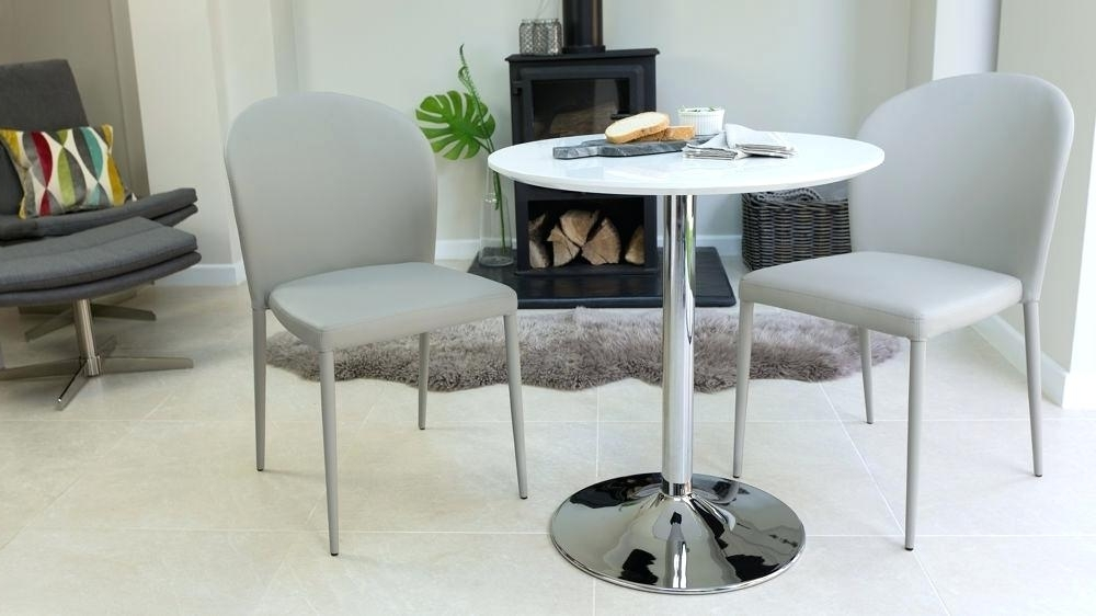 Current Small Dining Table 2 Chairs – Modern Computer Desk Cosmeticdentist In Small Round White Dining Tables (View 3 of 20)