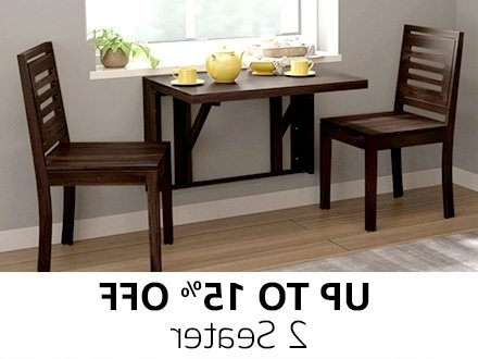 Current Two Seater Dining Tables With Dining Table: Buy Dining Table Online At Best Prices In India (View 8 of 20)