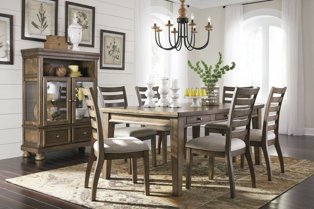 D719 Pertaining To Current Market 6 Piece Dining Sets With Side Chairs (View 5 of 20)