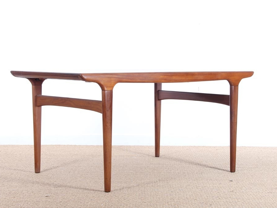 Danish Dining Tables Regarding Recent Mid Century Modern Danish Dining Table In Teakjohannes Andersen (View 7 of 20)