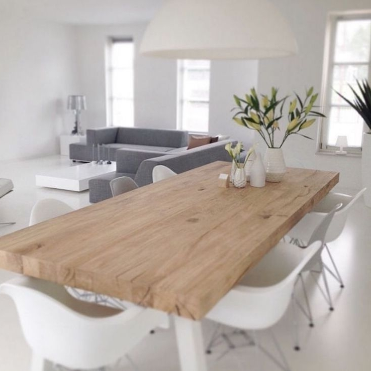 Danish Style Dining Tables With Regard To Widely Used 29+ Gorgeous Scandinavian Interior Design Ideas For Anyone Who Has A (View 7 of 20)