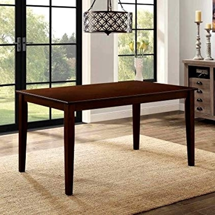 Danish Style Dining Tables Within Most Up To Date Amazon – Danish Style Dining Table, Rectangle Wooden Dining Room (View 8 of 20)