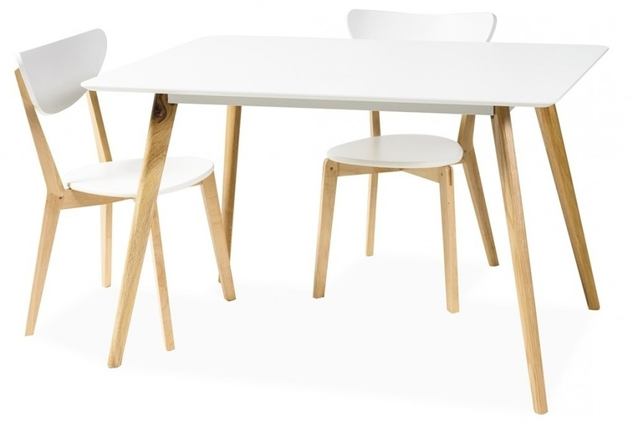 Danish Style Dining Tables Within Widely Used Milano Dining Table Scandinavian Style – Mr Gregor Ltd (View 9 of 20)