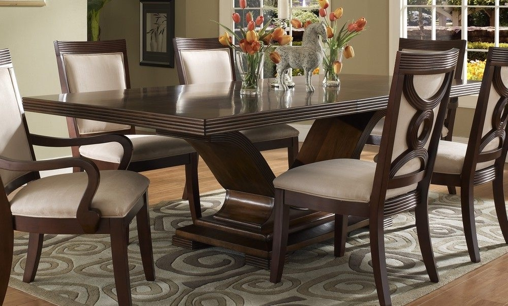 Dark Solid Wood Dining Tables For Most Current Dining Room All Wood Table And Chairs Wood Furniture Dining Room (View 4 of 20)
