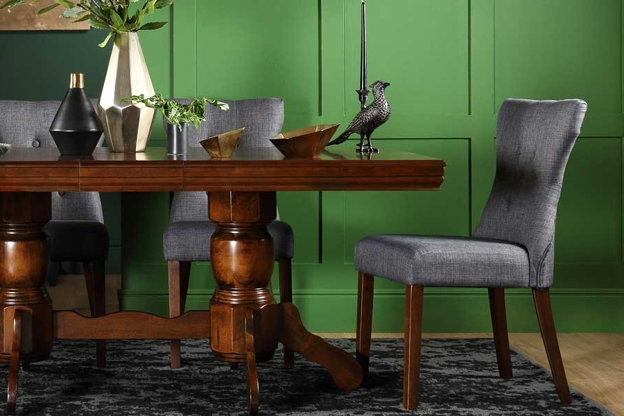 Dark Wood Dining Sets (View 8 of 20)