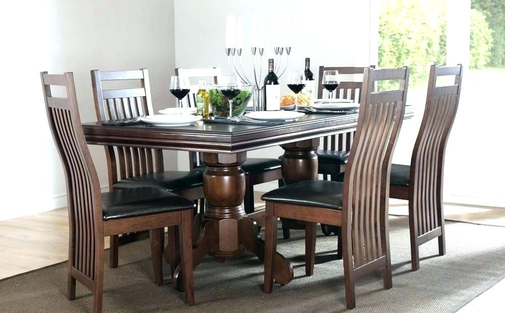 Dark Wood Dining Table – Crit Throughout Preferred Dining Tables Dark Wood (Gallery 17 of 20)
