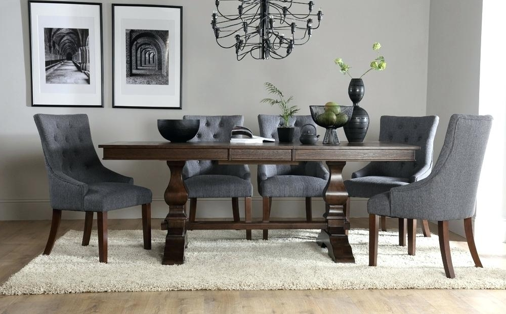 Dark Wood Dining Tables And Chairs For Most Recent Small Dark Wood Dining Table Elegant Black Wooden And Chairs White (View 6 of 20)