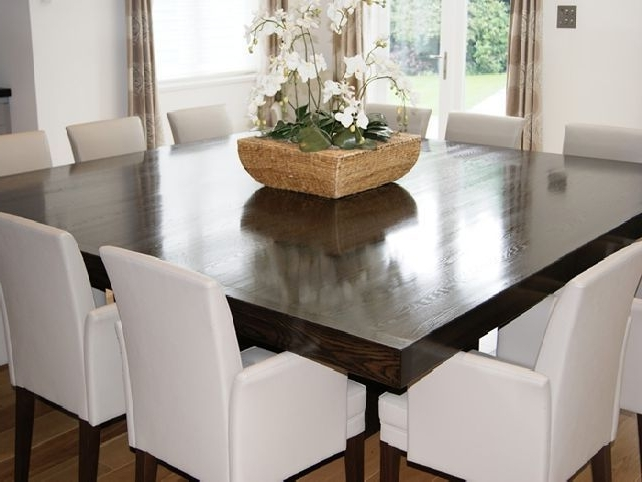 Dark Wood Square Dining Tables Intended For Fashionable Pinmarie Jimenez On Home Design (View 5 of 20)
