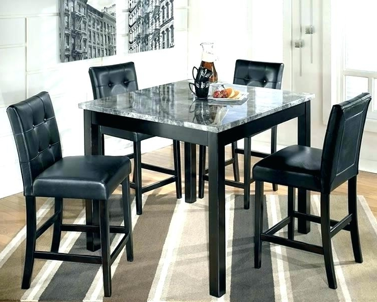 Dark Wooden Dining Tables Within Widely Used Tall Wood Dining Table Furniture Tall Dining Table Tall Dark Wood (View 20 of 20)