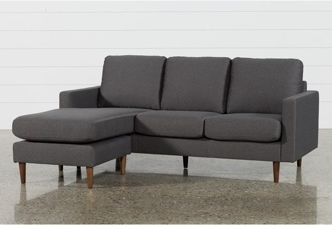 David Dark Grey Reversible Sofa Chaise (View 8 of 15)