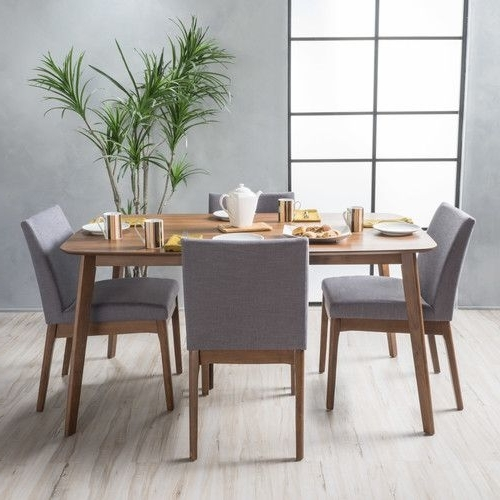 Featured Photo of Gavin 7 Piece Dining Sets With Clint Side Chairs