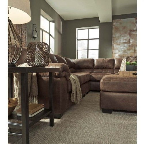 Declan 3 Piece Power Reclining Sectionals With Left Facing Console Loveseat Regarding Well Liked Bladen – Coffee 3 Piece Sectional (View 4 of 15)